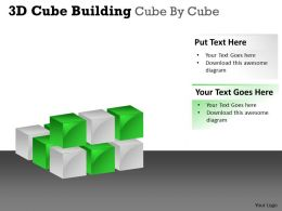 3D Cube Building Cube By Cube PPT 31