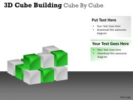 3D Cube Building Cube By Cube PPT 32
