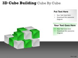 3D Cube Building Cube By Cube PPT 33