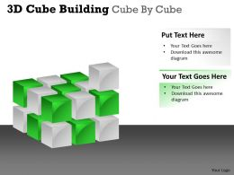 3D Cube Building Cube By Cube PPT 38