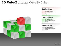 3D Cube Building Cube By Cube PPT 39