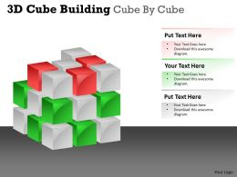 3D Cube Building Cube By Cube PPT 44