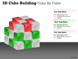 3D Cube Building Cube By Cube PPT 45