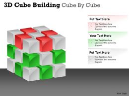 3D Cube Building Cube By Cube PPT 46