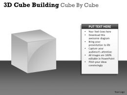 3D Cube Building Cube By Cube PPT 47