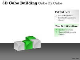3D Cube Building Cube By Cube PPT 48