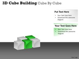 3D Cube Building Cube By Cube PPT 49