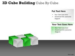 3D Cube Building Cube By Cube PPT 50