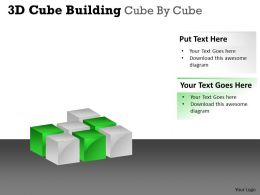 3D Cube Building Cube By Cube PPT 51