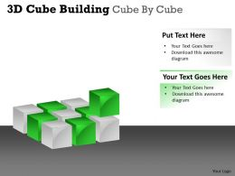 3D Cube Building Cube By Cube PPT 54
