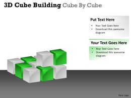 3D Cube Building Cube By Cube PPT 55