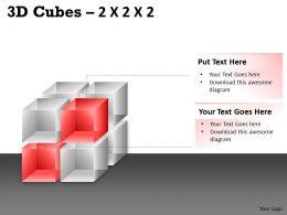 3D Cubes 2x2x2 PPT 61