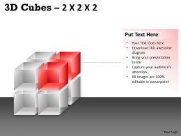 3D Cubes 2x2x2 PPT 62