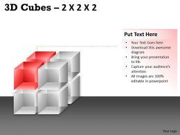 3D Cubes 2x2x2 PPT 63