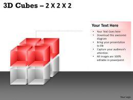 3D Cubes 2x2x2 PPT 66