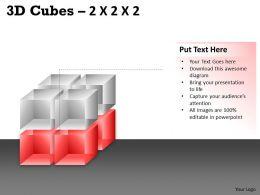 3D Cubes 2x2x2 PPT 67