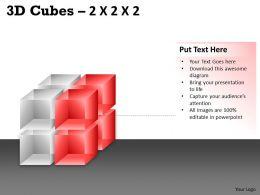 3D Cubes 2x2x2 PPT 68