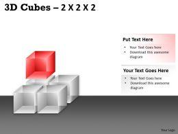 3D Cubes 2x2x2 PPT 70