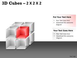 3D Cubes 2x2x2 PPT 73