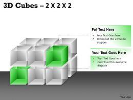 3D Cubes 2x2x3 PPT 76