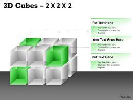 3D Cubes 2x2x3 PPT 77