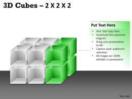 3D Cubes 2x2x3 PPT 78