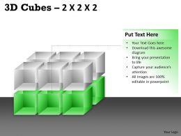 3D Cubes 2x2x3 PPT 82