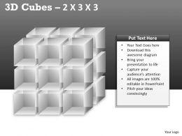 3D Cubes 2x3x3 PPT 83