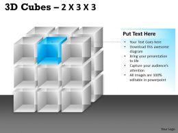 3D Cubes 2x3x3 PPT 84