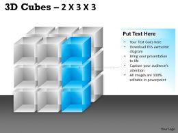 3D Cubes 2x3x3 PPT 86