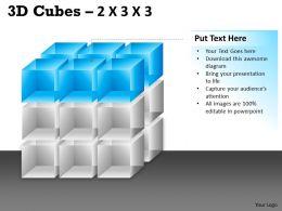 3D Cubes 2x3x3 PPT 88