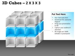 3D Cubes 2x3x3 PPT 89