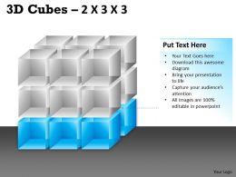 3D Cubes 2x3x3 PPT 90