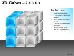 3D Cubes 2x3x3 PPT 93