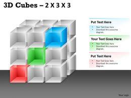 3D Cubes 2x3x3 PPT 94