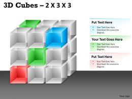 3D Cubes 2x3x3 PPT 95