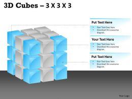3D Cubes 3x3x3 PPT 104
