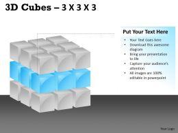 3D Cubes 3x3x3 PPT 112