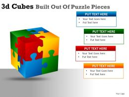 3d_cubes_built_out_of_puzzle_powerpoint_presentation_slides_Slide01