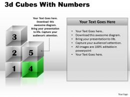 3d Cubes With Numbers PPT 169