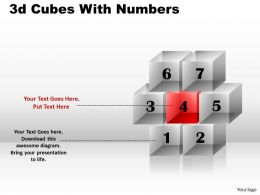 3d Cubes With Numbers PPT 173