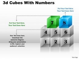 3d Cubes With Numbers PPT 174