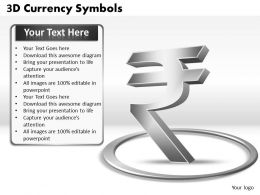 3D Currency Symbols PPT 8