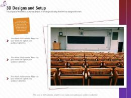 3D Designs And Setup Stage Shows Management Firm Ppt Inspiration