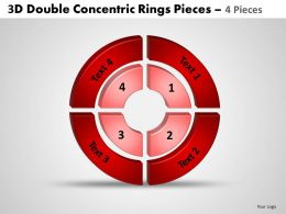 3d double concentric rings pieces 4