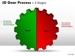 3D Gear Process 2 Stages Style 1