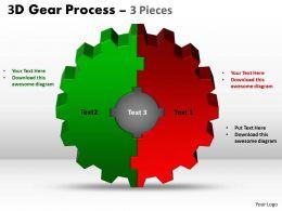 3D Gear Process 3 Pieces Style 2