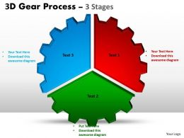 3D Gear Process 3 Stages Style 1