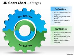 3D Gears Chart 2 Stages 1