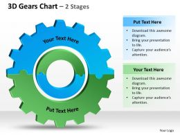 3D Gears Chart 2 Stages 2